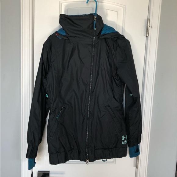 Black under armour MTN ski/snowboard jacket